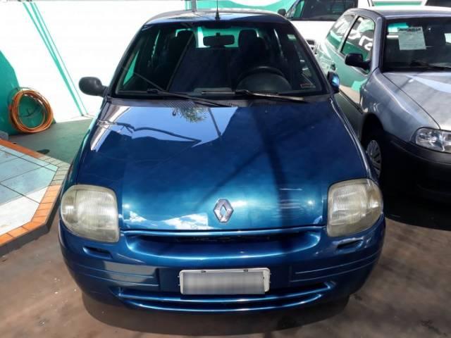 clio hatch azul 2000 - renault - limeira cód.1358754 tem usados