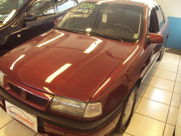 vectra sedan vermelho 1996 - chevrolet - guarulhos cód.177454 tem usados